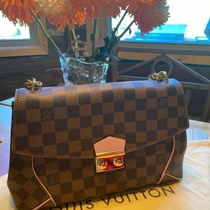 Authentic Louis Vuitton Caissa Clutch